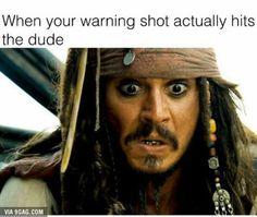 You've been warned?