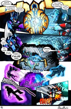 The Falling (SG) Page iii by SoundBluster on DeviantArt Transformers Characters, Transformers Prime, Alone Art, Ben Tennyson, Shattered Glass, Ben 10, Comic Page, Kingdom Hearts, Loki