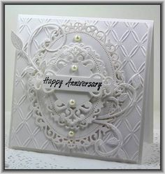 Anniversary by Ashdale - Cards and Paper Crafts at Splitcoaststampers Happy Anniversary Wishes, Wedding Anniversary Cards, Homemade Anniversary Cards, Anniversary Funny, Anniversary Ideas, Wedding Wishes, Wedding Gifts, Wedding Cards Handmade, Greeting Cards Handmade