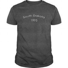 South Dakota 1995 Birth Years TShirt