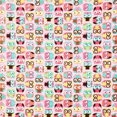 I really feel like I should buy this Owl minky fleece fabric and make something for @Jessie Tracy
