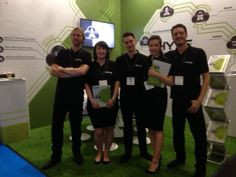 Team at Cloud Expo Europe