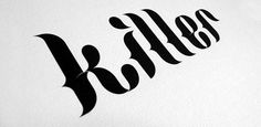 Font of the day: Killer | Typography | Creative Bloq