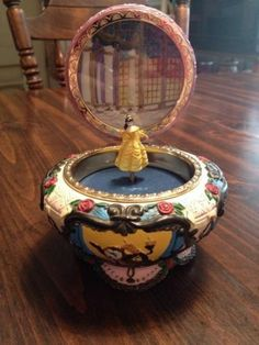 Disney Beauty and Beast Music Box #Collectible