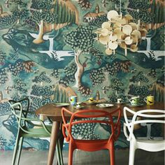 Heal's | Zoffany Verdure Wallpaper By Melissa White - Wallpaper - Wallpaper - Accessories