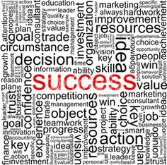 Success words seamless