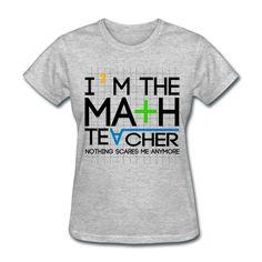 Amazon.com: Funny Math Teacher Women's T-Shirt: Clothing