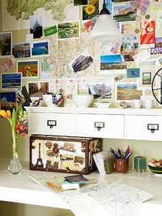 Better Homes and Gardens Home Office decorating by decorology, via Flickr