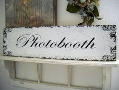 Photobooth signage  $42