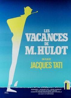 Les Vacances de Mr Hulot ( Jacques Tati ) by Etaix P. (d'apres) vintage poster
