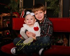 I bet that this little girl is gonna have an awesome big brother! |Leigh Bedokis Photography | www.bedokis.com 618-985-6016 | #SouthernIllinois #Photography #Siblings #Kids