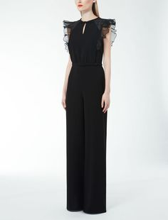 Max Mara SARDA black: Cady jumpsuit. Find your outfit on the Official ...
