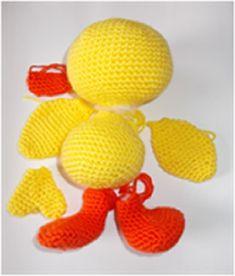 Dani a kacsa - Amigurumi és horgolás Amigurumi Toys, Yoshi, Tweety, Crochet Patterns, Knitting, Blog, Character, Art, Art Background