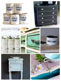 Chalk Paint by Annie Sloan The easy Way to make-over your interior www.homebyaap.dk