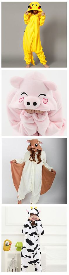 What is your favorite cosplay costume? Is Kigurumi pajamas in your must have list? Check all the cartoon characters - pokemon, unicorn and many more! Find them by clicking on the picture!