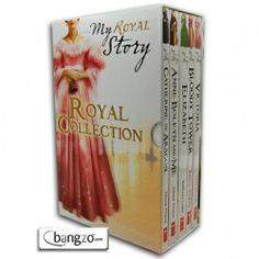 My Royal Story Collection Tudor Girls Princess Diary 5 Books Box Gift Set