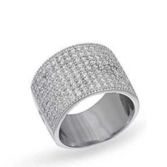 Glamorous Cocktail Ring by Evabella Collections on Opensky