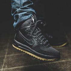 Nike Lunar Force 1 Duck Boot 'Black' |