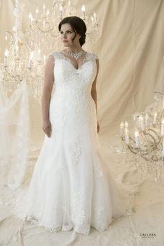 Die 25 umwerfendsten Hochzeitskleider für Kurvenstars