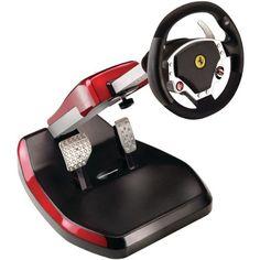 Thrustmaster Ferrari GT Cockpit Wireless Racing Wheel, for PlayStation Black Playstation Games, Ps3, Racing Wheel, Racing Seats, Gaming Accessories, Game Controller, Gaming Computer, Videos, Euro
