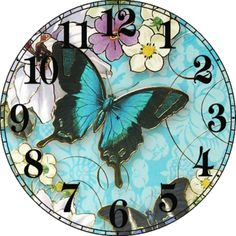 .clock face Reloj m