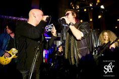 Glenn Hughes @glenn_hughes at Boston Music Awards 2012 on Sunday, December 2nd, 2012 with Dean DeLeo (guitar), David Draiman (vocals), Paul Geary (drums) and Tal Wilkenfeld (bass)