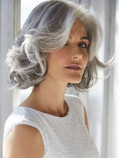 Hard to believe this is a wig.  Amal Synthetic Wig by Rene of Paris