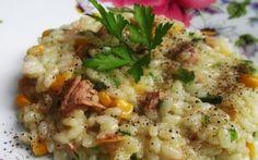 Orez cu ton și legume Risotto, Ethnic Recipes
