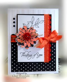 Stampin' Up Thinking of You Card by nitestamper on Etsy
