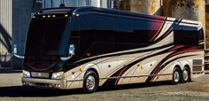 Our Luxury Motorhomes are the ultimate ride. Our craftspeople create one of a kind luxury RVs for your one of a kind life. World class Prevost bus conversion. Prevost Bus, Marathon Coach, Luxury Motorhomes, Sightseeing Bus, Luxury Bus, Vacation Mood, Airplane Photography, Summer Outfits Men, Camaro Zl1