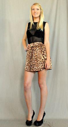 Zama Skirt in Leopard by Denise SL Spalk, https://marketplace.asos.com/listing/skirts/zama-skirt-in-leopard/1563080