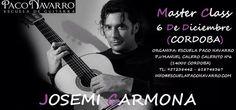 MASTER CLASS  JOSEMI CARMONA. ESCUELA PACO NAVARRO. Fundación Guitarra Flamenca. www.fundacionguitarraflamenca.com