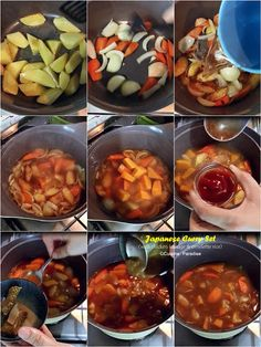 How to prepared Japanese style curry