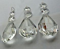 Authentic Glass Chandelier Crystals 2 5 Inch 60mm Teardrop Set Of 25 Amalfi Décor Pinterest Chandeliers And