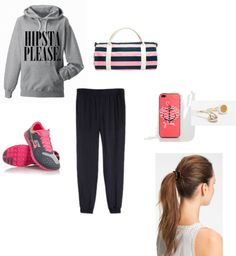 """""""If I ever worked out..."""" by heyitscassie101 on Polyvore"""