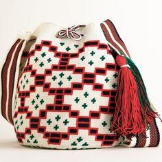 Wayuu Boho Bags with Crochet Patterns Crochet Handbags, Crochet Purses, Crochet Bags, Tapestry Bag, Tapestry Crochet, Crochet Shoes, Knit Crochet, Mochila Crochet, Hobo Style