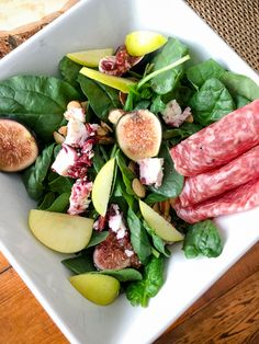 """I was inspired by Deitz and Watson's effort to """"choose the table"""", so I tried making a delicious autumn salad at home using their products. Yum!"""