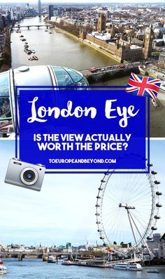 Wondering if the view from the London Eye is worth the wait, hype and money? Hint: it is. These photos are the very proof! #London #travel #Europe
