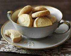 Try making parmesan shortbread to serve with drinks or as an edible present - it only requires four simple ingredients!