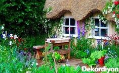 English Country Cottages, English Country Gardens, English Countryside, Country Houses, English Village, Cottages Anglais, Cottage Garden Plan, Cottage Patio, Cottage Exterior