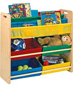 Childrens Bookcase And Toy Storage Euffslemani