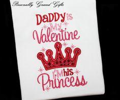Mijn papa is mijn Valentijn ik ben zijn door PersonallyGraced