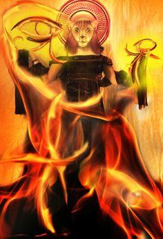 Lady of Terror Sekhmet