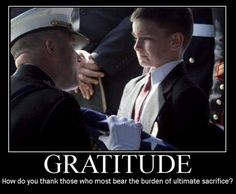 Gratitude inspirational quotes for soldiers