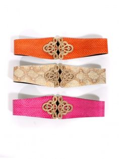 Assorted Christian Snake Belts by Raina Belts - ShopKitson.com