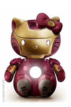 Hello Iron Kitty