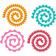 Silhouette Design Store: assorted quilled flowers