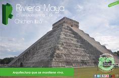 Riviera Maya, Chichen Itzá. !El viaje de los viajes¡ Itinerario: http://es.scribd.com/doc/165138595/Itinerario-Riviera-Maya-Explora-13-14