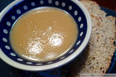 Silken Turnip and Potato Soup (and How To Make Chicken Stock)