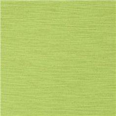 Rayon Slub Jersey Knit Lime